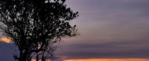 Enjoying The Melancholy of Sunset in Cinta Beach at Kedungu, Tabanan
