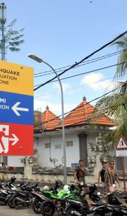 The Attorney Postpone Reading the Exception Response Because Earthquake Shakes Bali