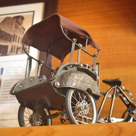 Take a Peek at the Becak Collection at the Becak Indonesia Museum