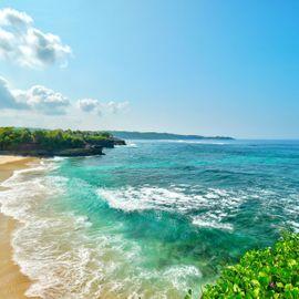 Welcoming the Twilight at Dream Beach, Nusa Lembongan