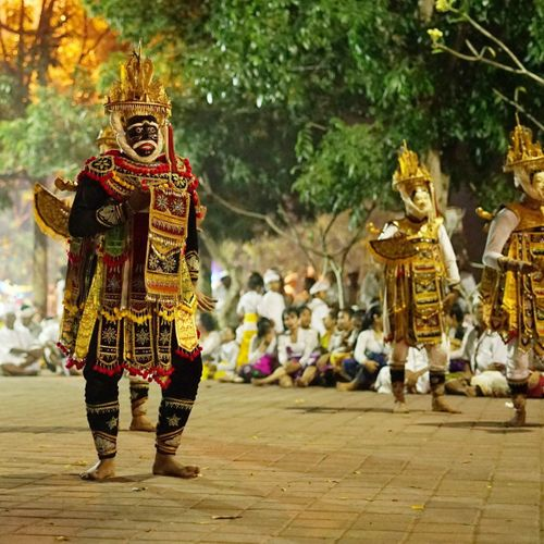 Special Balinese Dances Played During a Sacred Ceremony