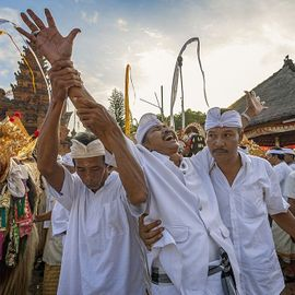 Kerauhan, a Mystical Concept in Some Sacred Ceremonies in Bali