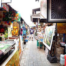 A Special Balinese Souvenir Paradise, Sukawati Art Market