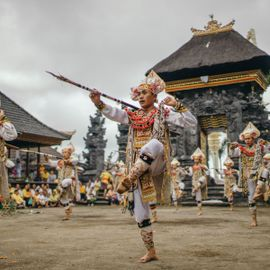 Baris Poleng Dance: The Story About the Plague in Penaban Hamlet