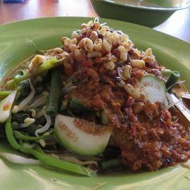 Serombotan Klungkung, the Traditional Balinese Vegetarian Menu