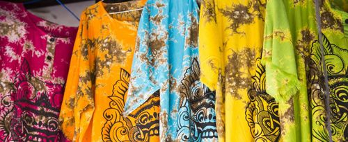 Barong T-shirts, Balinese Souvenirs Produced by the Residents of Beng Gianyar Village