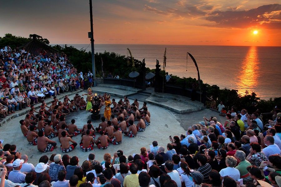 Magical Kecak Dance Wrapped in Astonishing Sunset