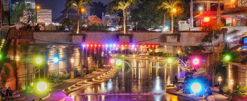 Enjoy Your Lovely Night at Kumbasari Park