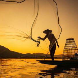 Fishing with Fishermen at Pasih Kelod Beach