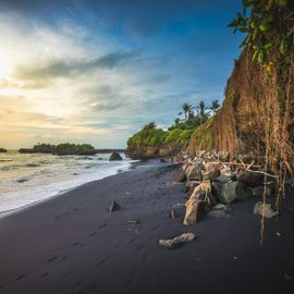 7 Black Sandy Beaches in Bali with Amazing Scenery