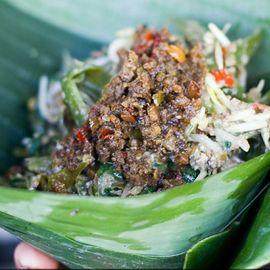 Plecing Tlengis Culinary in Karangasem Bali