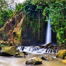 The Artificial Sumampan Gianyar Waterfall