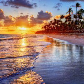 Awesome Sunset on Beraban Beach