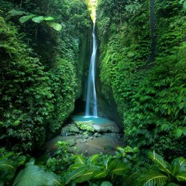 Leke-Leke Waterfall: The Perfect Place to Enjoy the Freshness of Nature in Tabanan