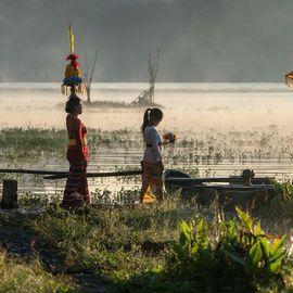 Lake Tamblingan, Twin Lake in North Bali