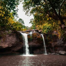 Refresh Your Body by Soaking in the Suwat Waterfall