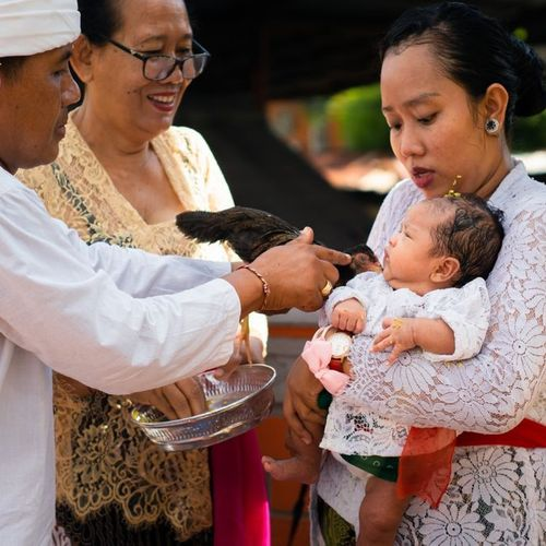 The Nelu Bulanin Ceremony: A Tradition to Celebrate the Birth of 3 Month-Old Babies in Bali