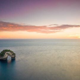 Enjoy the Charming Blue Ocean at Banah Sunset Point