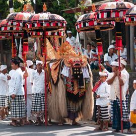 Barong Ngunya: The Sacred Tradition to Prevent Bad Luck from Serokadan Village