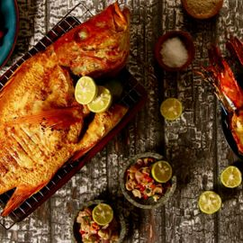 Enjoy the Seafood Menu at Karangasem