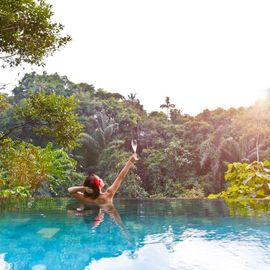 Refresh Yourself in Suganing Water Pool