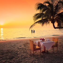 The Luxury of a Romantic Dinner in Nusa Dua