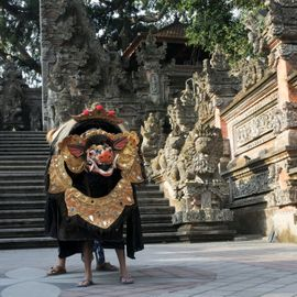 The Three-Eyed Barong the Ruler of Niskala in South Bangli