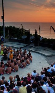 Magical Kecak Dance Wrapped in Astonishing Sunset