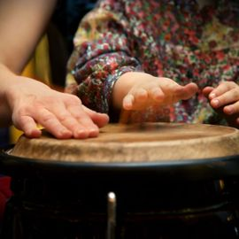 It's Fun to Learn Music Instruments in the Desa Dusun Musical Villages!