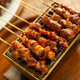 """Sea Turtle"" Satay, Soft and Savory Balinese Food Made from Meat"