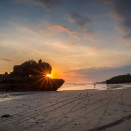 Enjoy the Sunset on 'Your Private' Black Sandy Beach