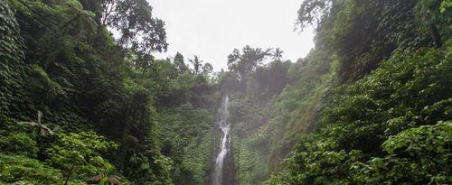 Enjoying the Harmony of Nature in the Menyali Waterfall