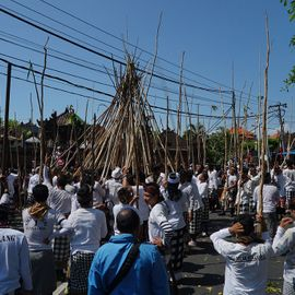 Mekotek, a Unique Hereditary Tradition in Bali