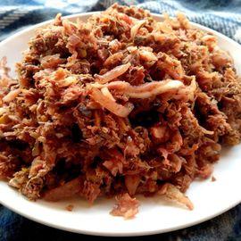 Taste the Balinese Extreme Culinary: Lawar Merah