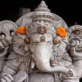 Palinggih Ganesha Pura Agung Menasa: The Most Unique Statue in Bali