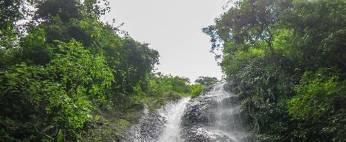 A Challenging Path to Yeh Labuh Waterfall