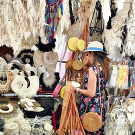 Cheap Shopping in Bali at Ubud Market