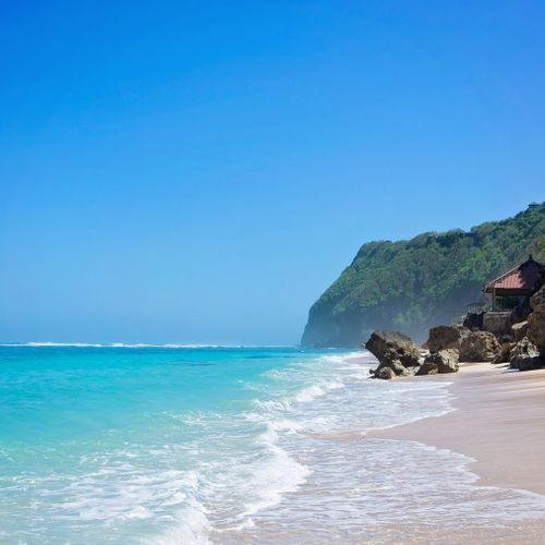Exotic Nuances of Melasti Beach Behind the Cliffs